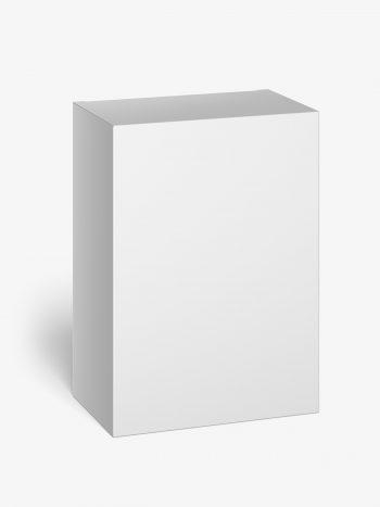 Box mockup / 80x110x50