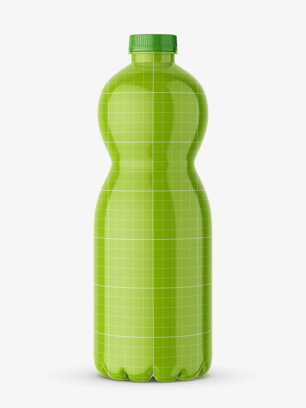 Beverage bottle mockup