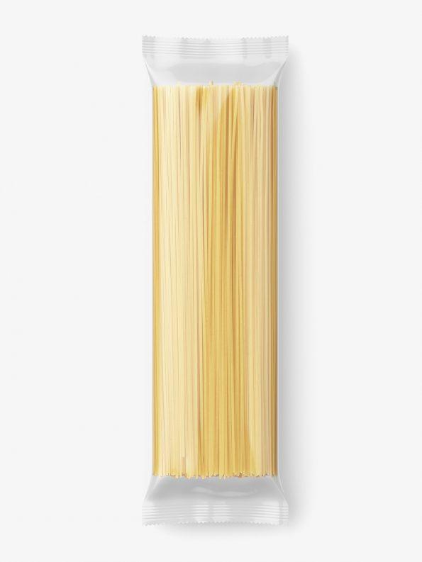 Spaghetti packaging mockup