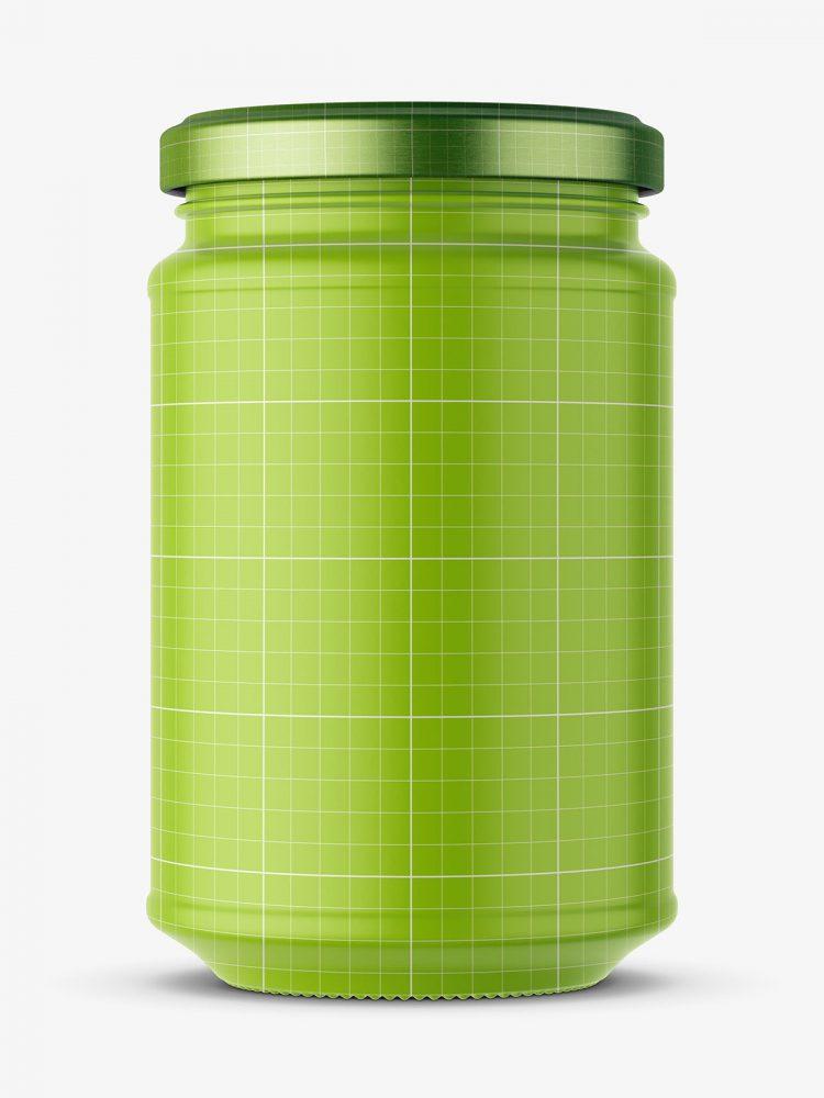 Celery root jar mockup