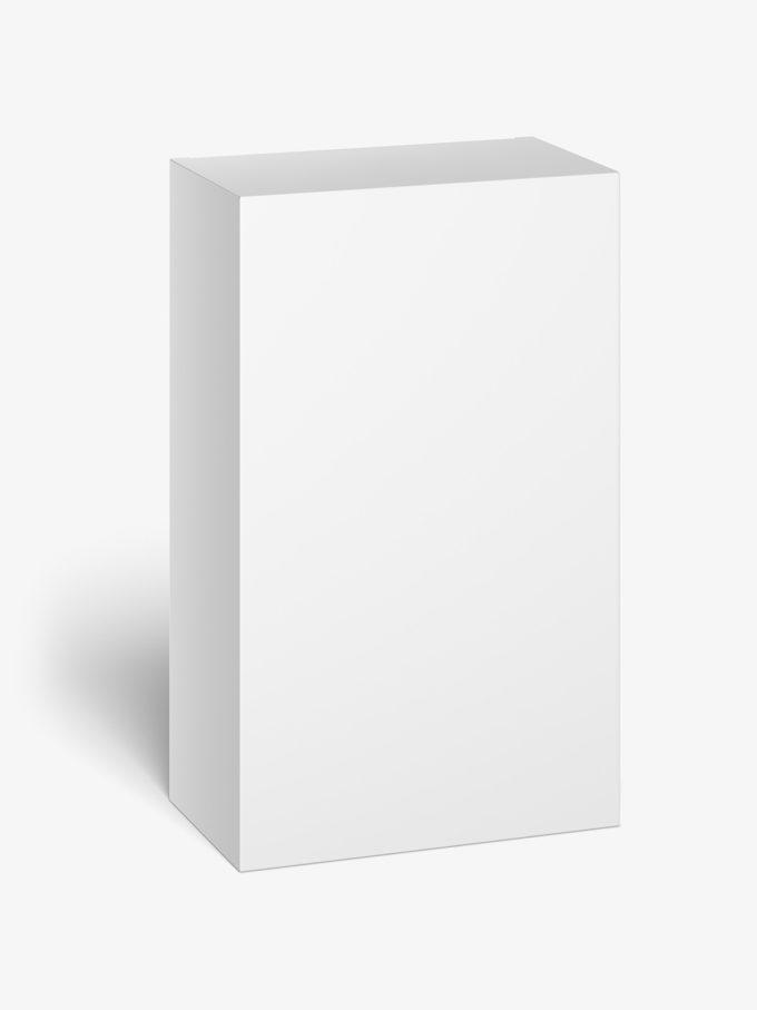 Box mockup / 95x155x55