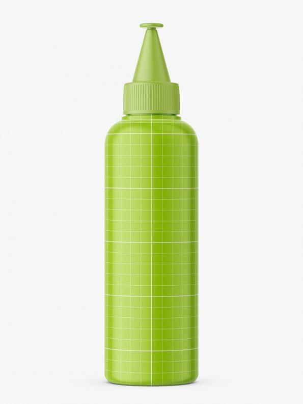 Matt applicator bottle mockup