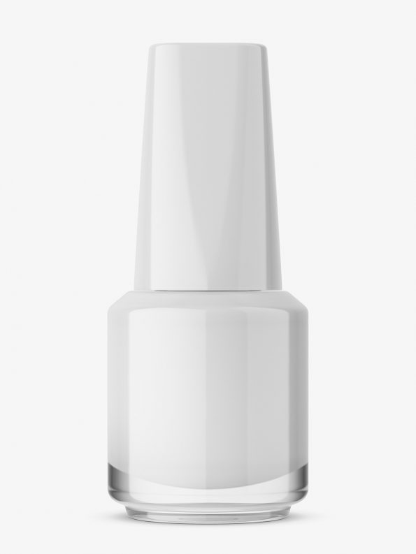 Nail polish bottle mockup