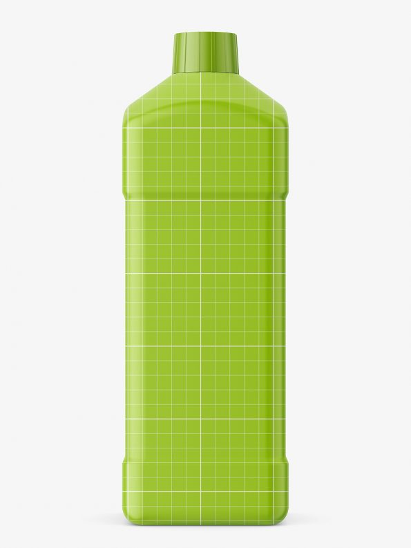 Chemical bottle mockup