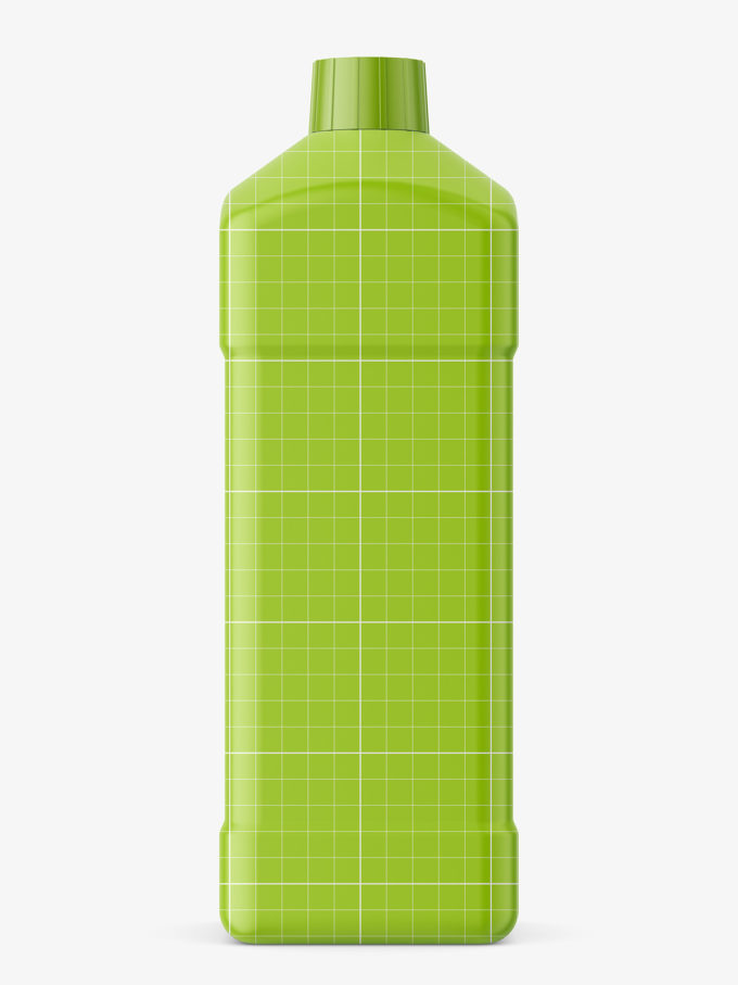 Chemical bottle mockup