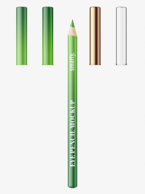 Matt eye pencil mockup