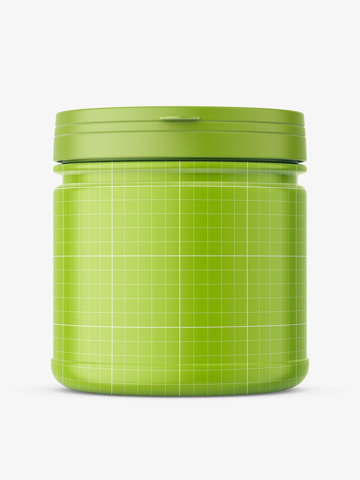 Supplement jar mockup / matt - Smarty Mockups