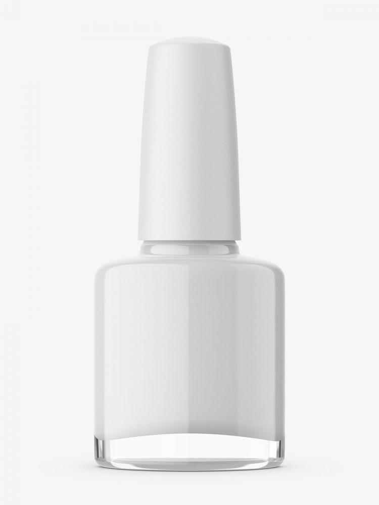 Nail polish bottle mockup