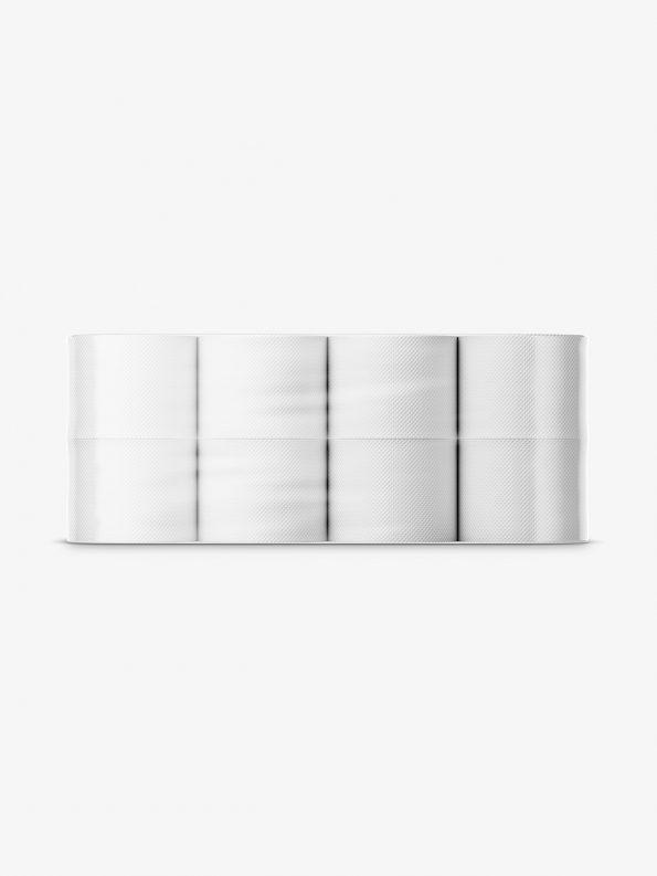 Toilet paper mockup / 8 rolls
