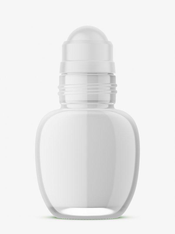 Glass roll-on bottle mockup