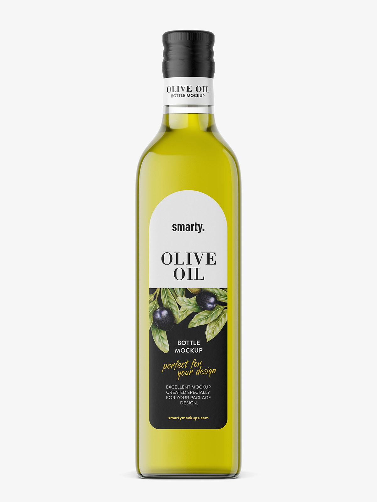 Olive Oil Bottle Mockup Smarty Mockups