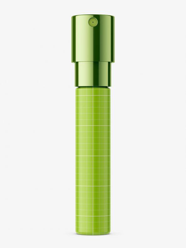 Small perfume vial mockup / glass