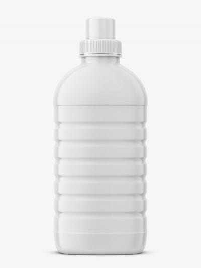 Softener bottle mockup