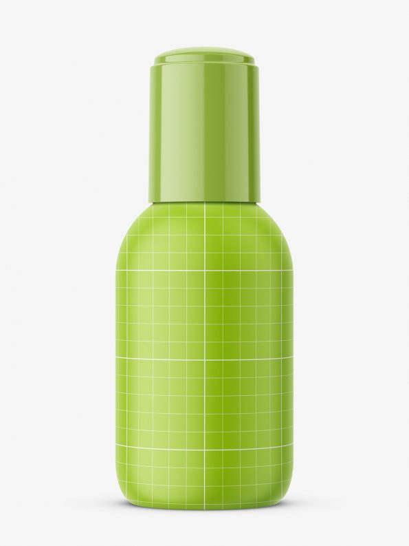 Acetone bottle mockup