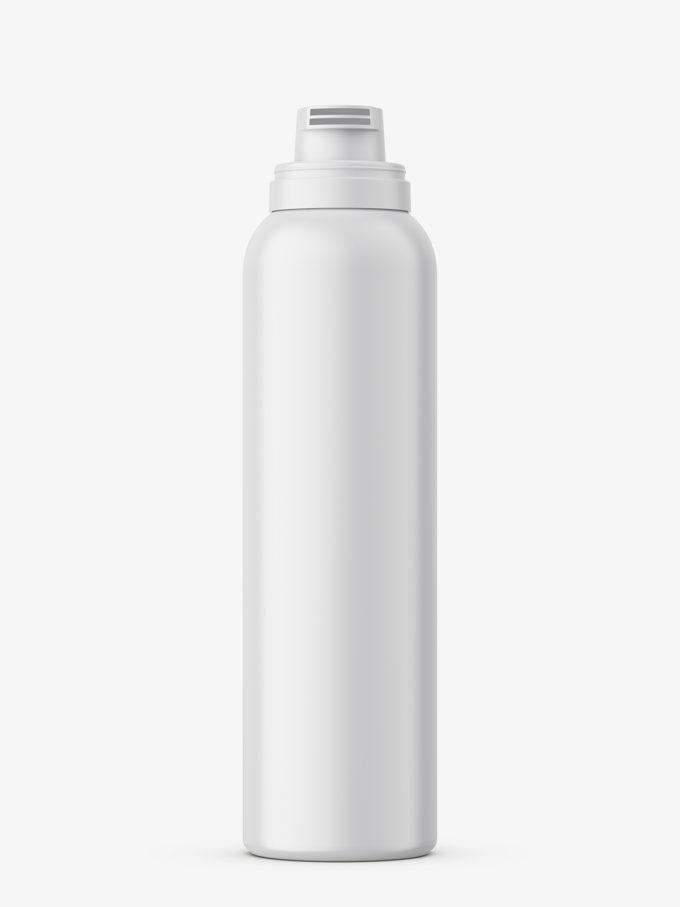 Cosmetic foam bottle mockup