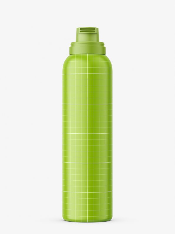 Cosmetic foam bottle mockup