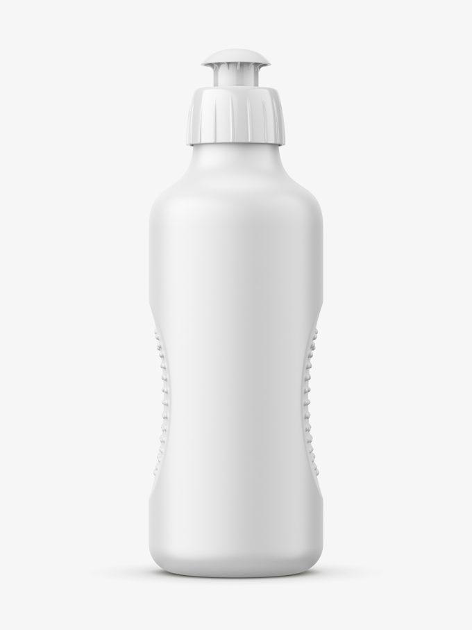 Dish wash bottle mockup