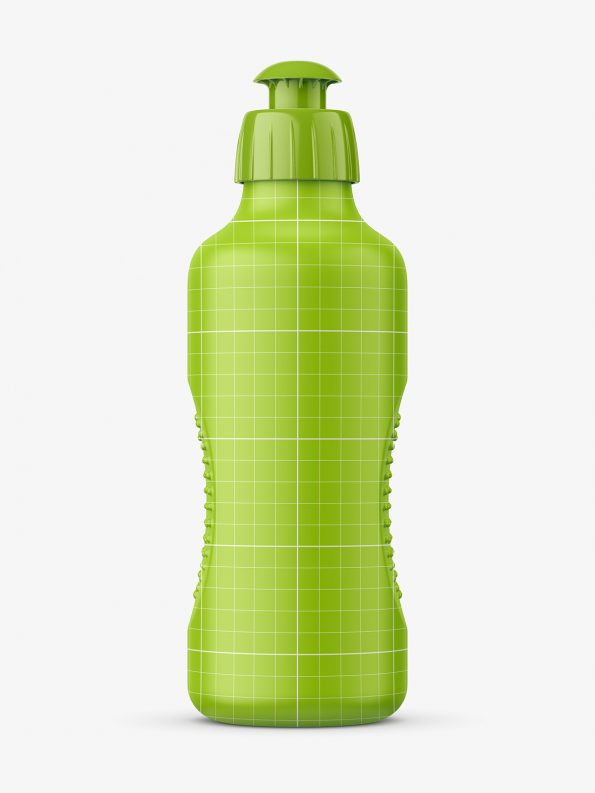 Dish wash bottle mockup