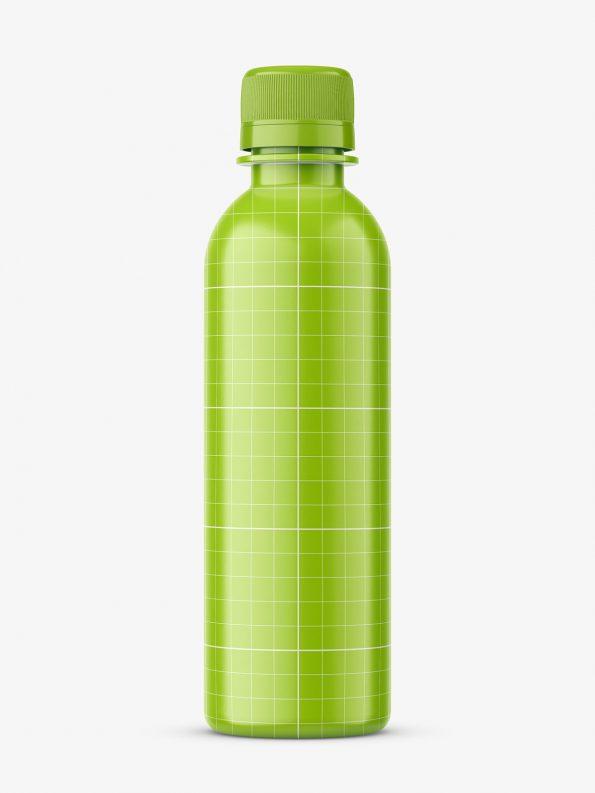 Universal amber bottle mockup
