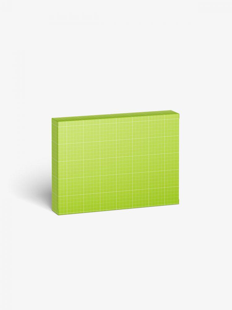 Box mockup / 125x90x20