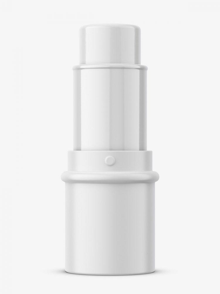 Face contour stick mockup