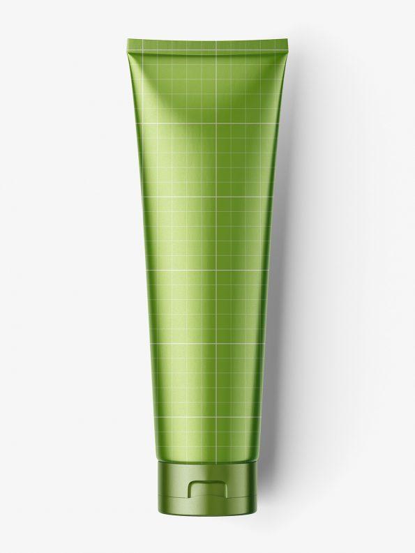 Metallic / satin tube mockup / fi35 - 150 mm