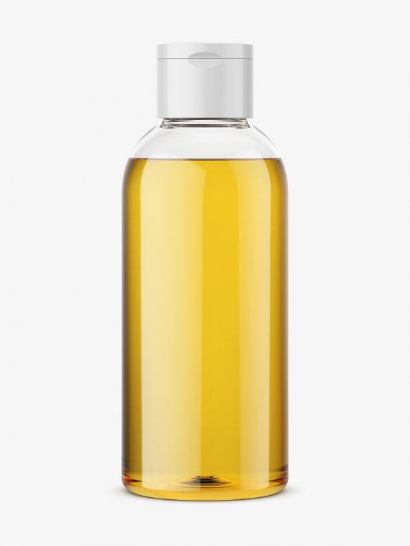 Shower oil bottle mockup