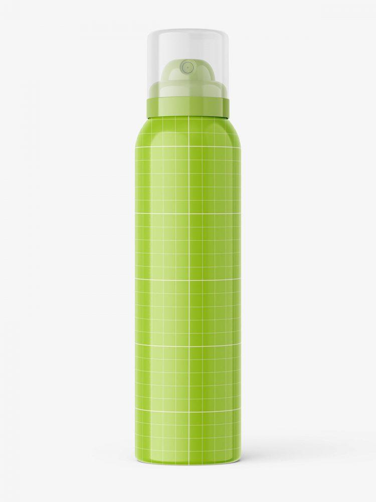 Cosmetic spray mockup