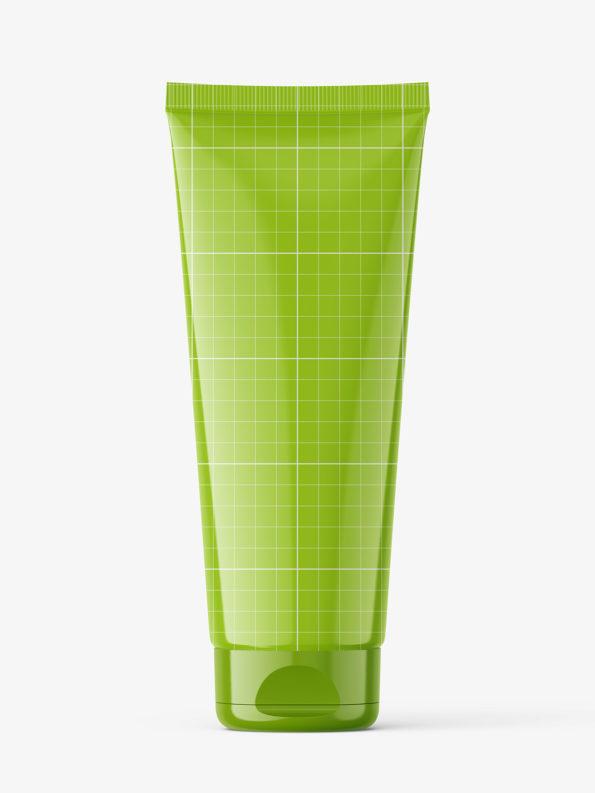 Glossy tube mockup / Fi50 H170