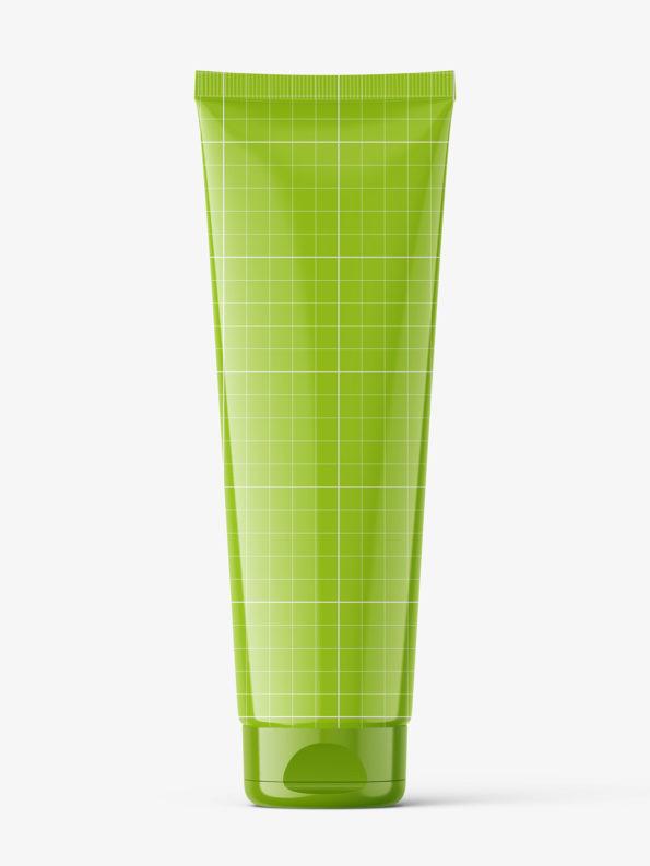 Glossy tube mockup / Fi50 H200