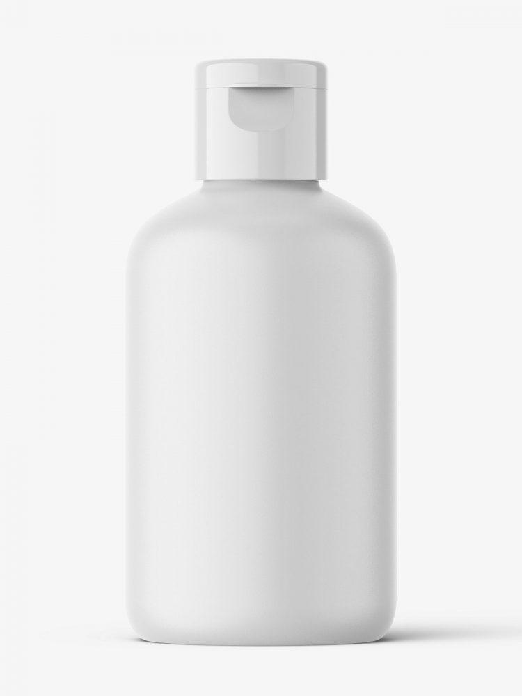 Boston bottle mockup - 100 ml / matt