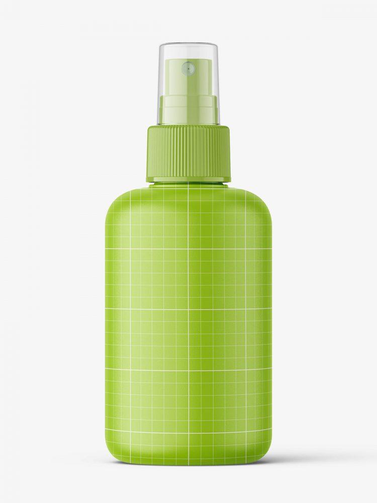Spray bottle mockup / matt