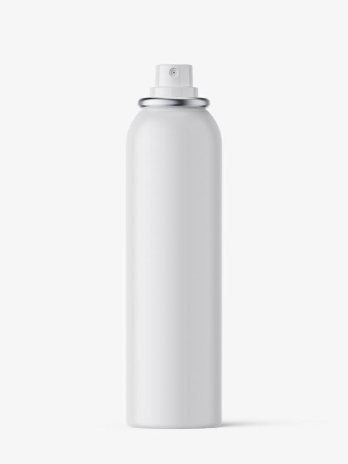 Deodorant spray bottle mockup / matt / 150 ml