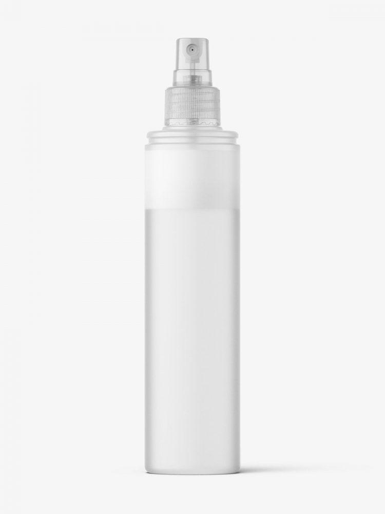 Two phase liquid bottle mockup