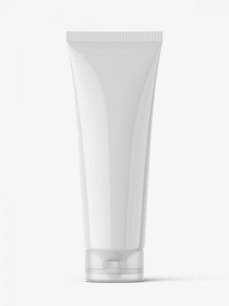 Glossy tube mockup / Fi50 H175