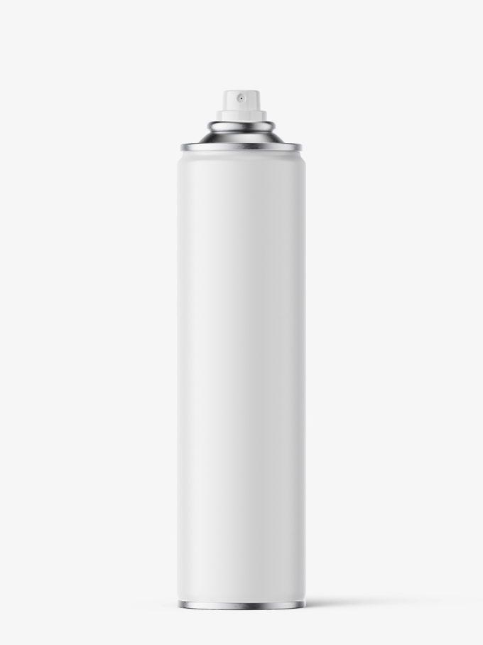 Spray bottle mockup / matt / 400 ml