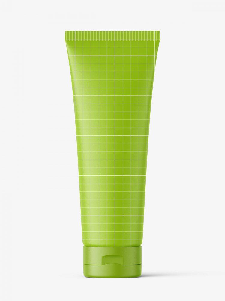 Transparent tube mockup / Fi50 H175
