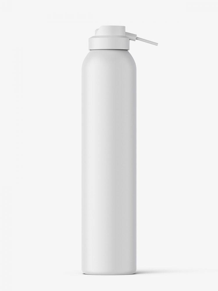 Cosmetic dispenser bottle mockup / matt