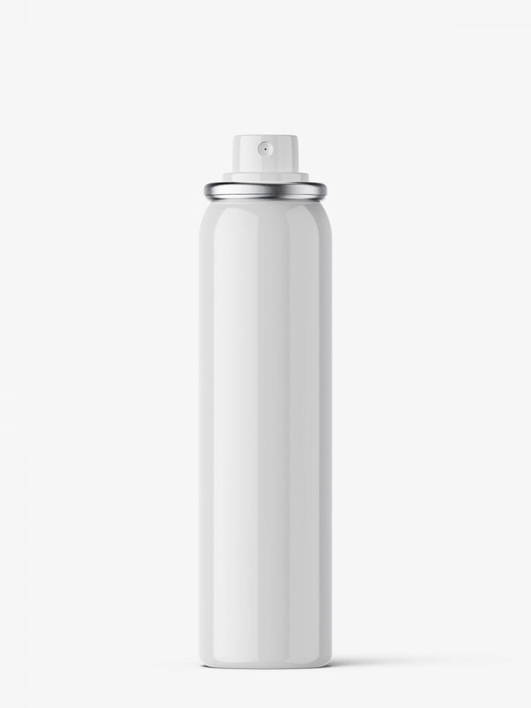 Small cosmetic spray bottle / glossy