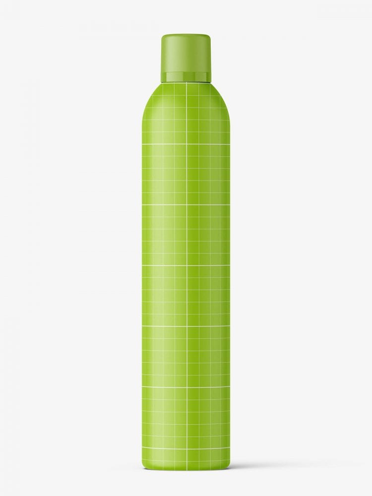 Cosmetic spray bottle mockup / 500ml / matt