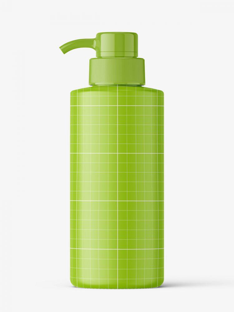 Universal pump bottle mockup / matt