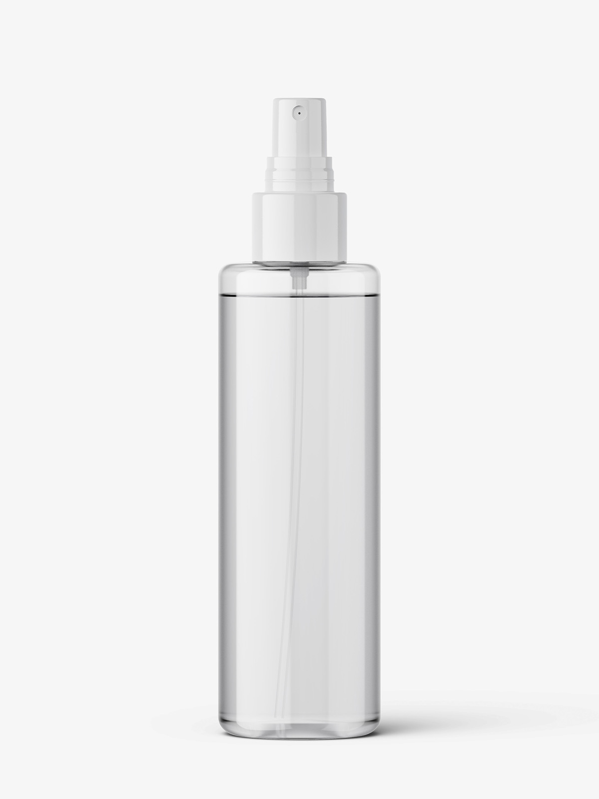 Transparent Spray Bottle Mockup Smarty Mockups