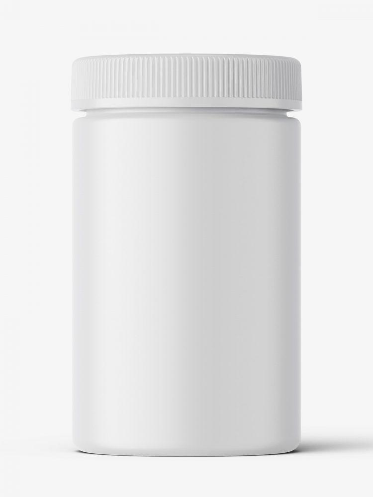 Pharmacy botte mockup / 30ct / Matt