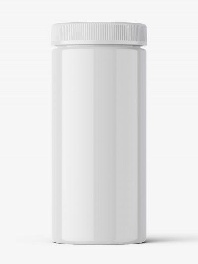 Pharmacy botte mockup / 60ct / Glossy
