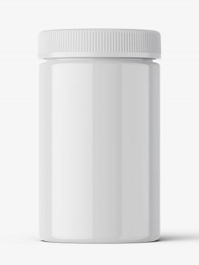 Pharmacy botte mockup / 30ct / Glossy