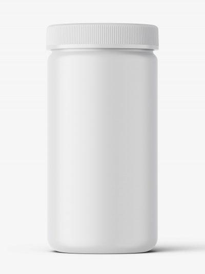 Pharmacy botte mockup / 100ct / Matt