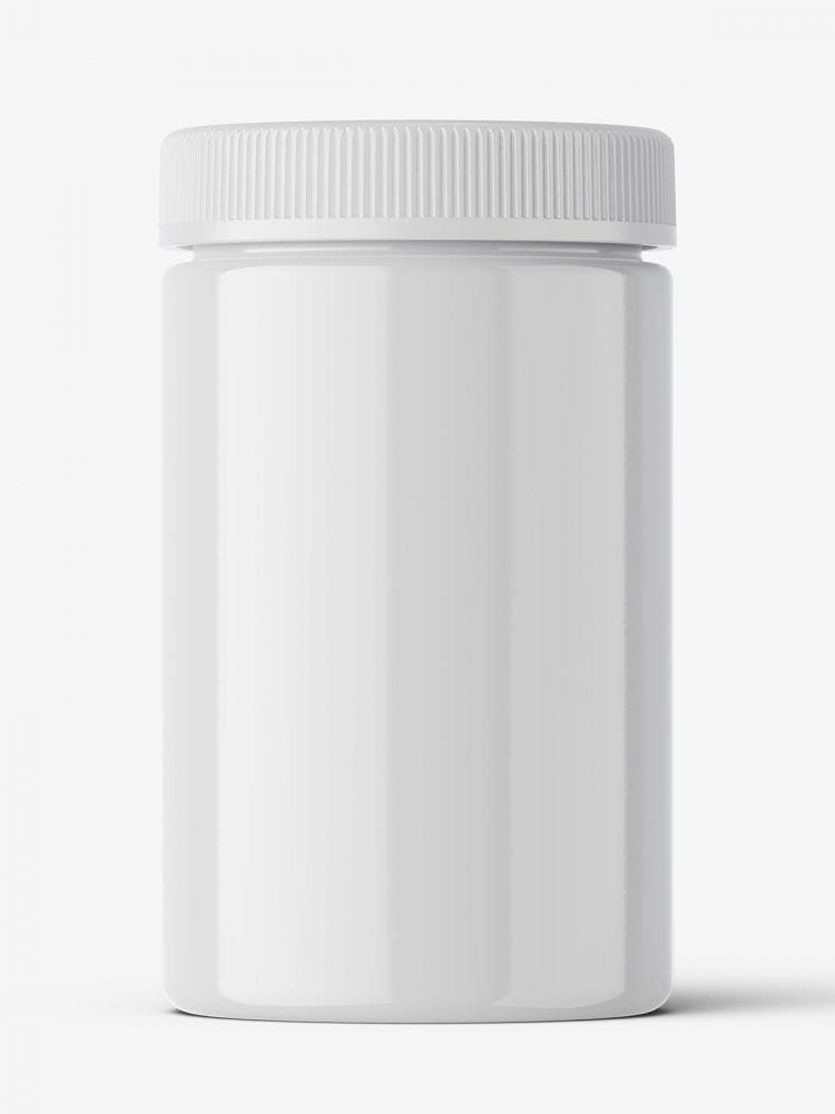 Pharmacy botte mockup / 30ct / Glossy