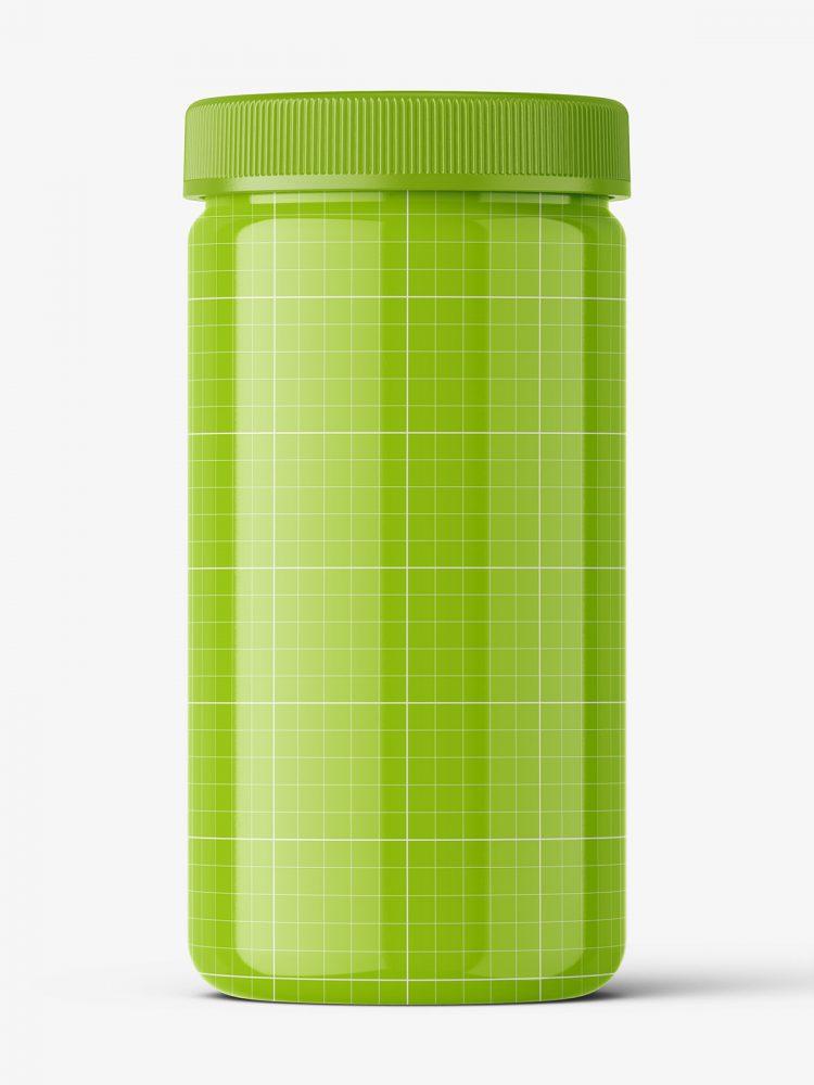 Pharmacy botte mockup / 100ct / Glossy