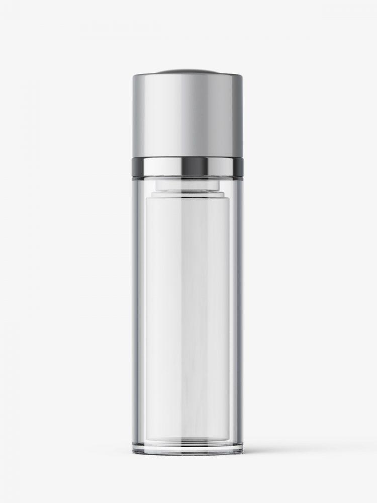 Airless twist up bottle mockup / 30 ml