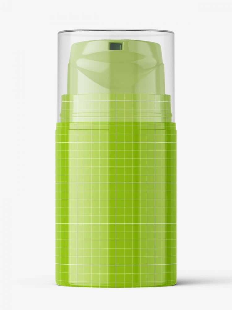 Airless bottle mockup / glossy